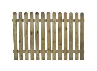 Premier Round Top Fence Panel 95Mm 1.8m x 0.9m