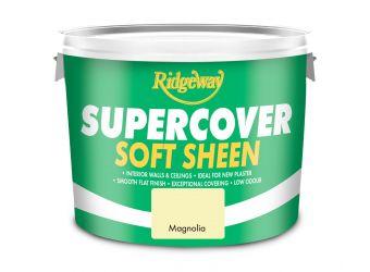 Ridgeway Supercover Matt Brilliant Magnolia 10L