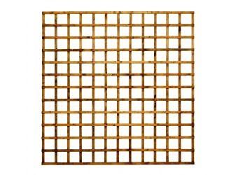 Heavy Square Trellis Fence Panel 100mm 1.8m X 0.6m