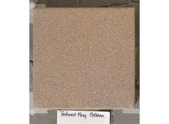 Textured Tobermore Paving Flag Golden 400x400x40mm