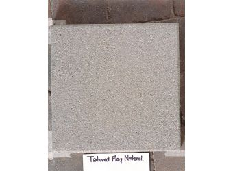 Textured Tobermore Paving Flag Natural 400x400x40mm