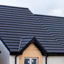Roadstone Donard Flat Roof Tile Black
