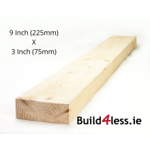 White Deal Rough Timber