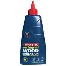 resin w wood glue 250ml bottle