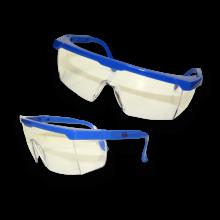 STD SAFETY SPECS BLUE FRAME