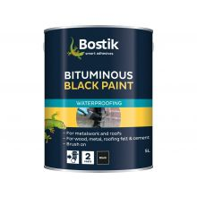 Bostik Bitumen Paint Black 5L