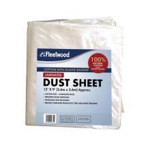 Ridgeway Plastic Dust Sheet 4Mx2.5M