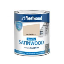 Fleetwood Advanced Satinwood Paint Pebble Beach 750ml