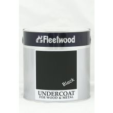 Fleetwood Oil Based Undercoat Black 2.5L