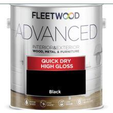 Fleetwood Gloss Black 2.5L