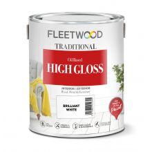 Fleetwood High Gloss Brilliant White 2.5L