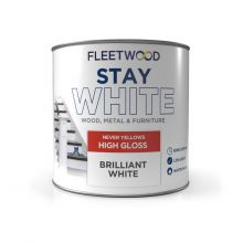 Fleetwood Gloss Stay White 750ml