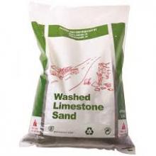 limestone sand