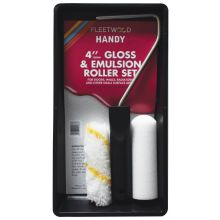 Emulsion & Gloss Set with 2 Sleeves - 4 Inch