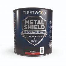 Fleetwood Metal Shield Gloss Black 250ml