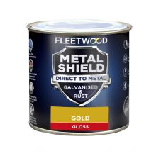 Fleetwood Metal Shield Gloss Gold 250ml