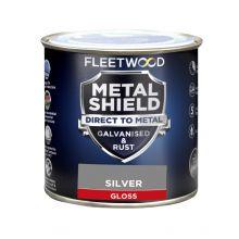 Fleetwood Metal Shield Gloss Silver 250ml