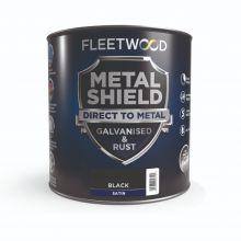 Fleetwood Metal Shield Satin Black 1L