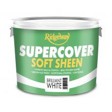 Ridgeway Supercover Soft Sheen Brilliant White 10L