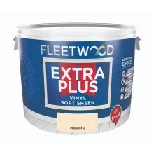 Fleetwood Extra Plus Vinyl Soft Sheen Magnolia Paint 10L