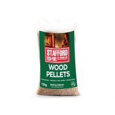 Staffords Wood Pellets - 15kg - 4 For €30