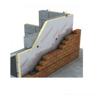 100mm Xtratherm Cavity Wall Insulation