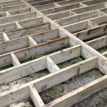 White Deal Timber Frame 5.5 Inch X 1.5 Inch X 17ft