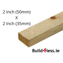 Imported Roof Batten Untreated 2 Inch X 2 Inch 16 Ft