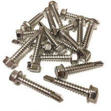 Hex Self Drill 3 Point Washered Screw 4.8mm X 16mm Bag of 100
