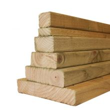 Treated Timber 4 Inch X 4 Inch X 14 Ft