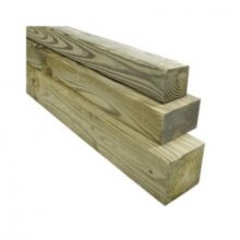 Treated Timber 4 Inch X 1 Inch X 16 Ft