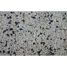 White Marble 10% Black 10mm Chippings 24KG Bag