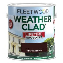 Fleetwood Weatherclad Bitter Chocolate 5L