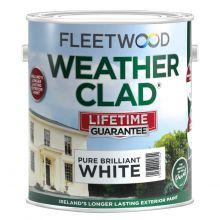 Fleetwood Weatherclad White 5L