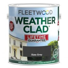Fleetwood Weatherclad Slate Grey 5L